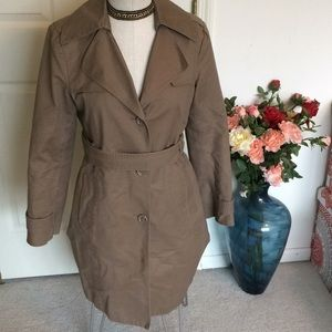 Kenneth Cole reaction tan jacket size small
